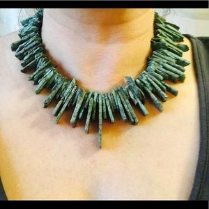 🌵Extraordinary VTG Navajo cut turquoise choker🌵